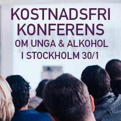 Kostnadsfri konferens om Unga och Alkohol
